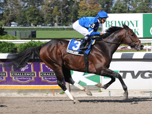Girolamo Serves Notice in Jerome Handicap Win
