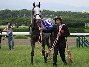 Gold Ship wins the Takarazuka Kinen at Hanshin in Japan.