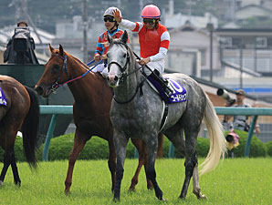Dual Japanese classic winner Gold Ship earned a Breeders' Cup Turf (gr. IT) berth.
