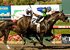 Golden Itiz Slips Past Skipshot in Affirmed