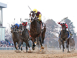 Golden Lad Holds Off Ride On Curlin in Essex