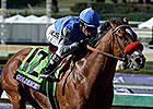 Goldencents Turns in Key BC Dirt Mile Work