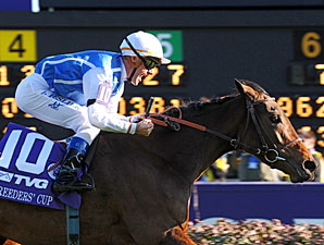 Goldikova Repeats as Top Female on Turf