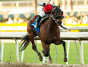 Got Even in the California Breeders' Champion Stakes.