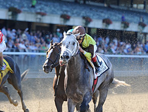 Graydar wins the 2013 Kelso Stakes.