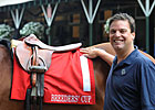 Colored Saddle Cloths for Breeders&#39; Cup