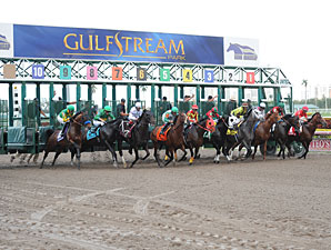 Gulfstream Handle Higher As Duel Continues