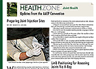 Health Zone: Preparing Joint Injection Sites