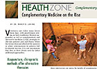 Health Zone: Complementary Medicine