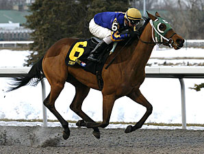 Turfway's Bourbonette Draws Ten 3YO Fillies