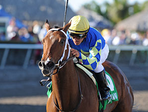 Hilda's Passion Sets 7F Record at Gulfstream