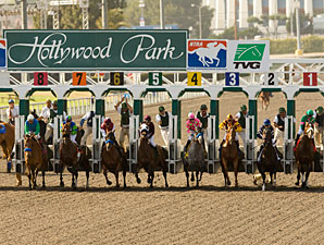 Hollywood Park Reports Handle Up 13.8%