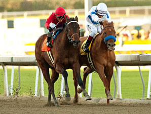 Home Sweet Aspen wins the 2012 Santa Monica.