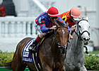 Hungry Island Rallies for Distaff Turf Win