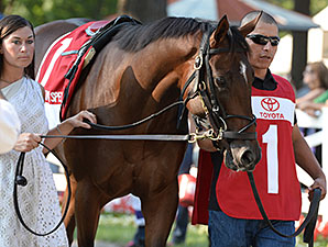 I Spent It wins the Saratoga Special.