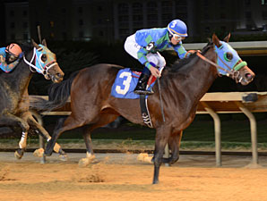 In the Fairway wins the 2012 Tri-State Futurity.