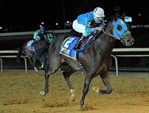 In the Fairway wins the 2012 West Virginia Vincent Moscarelli Memorial Breeders' Classic.