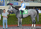 In Tune Takes Giant Step in Gulfstream Oaks