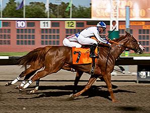 Indian Gracey wins the 2012 California State Fair Sprint Handicap.