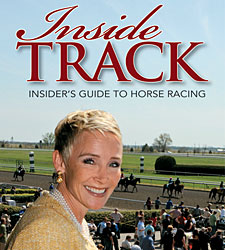 Donna Barton Brothers Signs Book at Keeneland