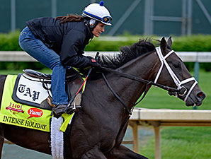 Intense Holiday Euthanized Due to Laminitis