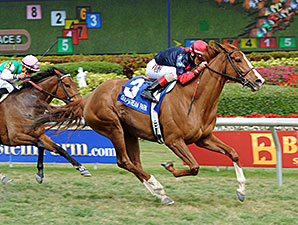 Irish Mission wins the 2015 The Very One Stakes.