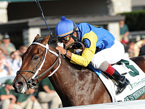 J. B.'s Thunder Rolls in Breeders' Futurity
