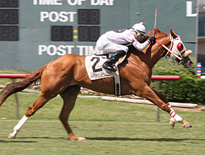 Jake Wil Gallop wins the 2009 USA Stakes.
