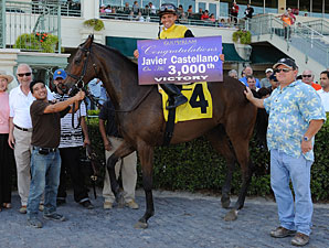 Javier Castellano Registers 3,000th Victory