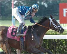 Jazil Second in First Start Since Belmont Stakes Win