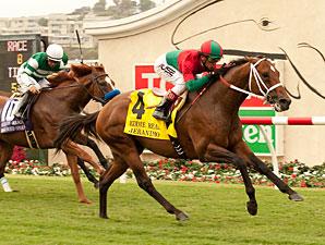 Jeranimo wins the 2013 Eddie Read.