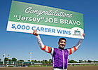 Milestone 5,000th Win for Jockey Bravo
