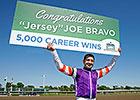 Milestone 5,000th Win for Jockey Bravo