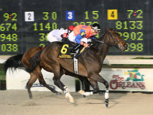 John Charles wins the 2010 Premier Night Sprint.