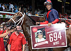 Velazquez Sets Win Record at Saratoga