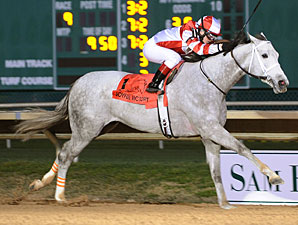 Joyful Victory Sets Track Mark at Sam Houston