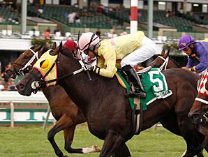 Ju Jitsu Jax wins the 2011 My Frenchman Stakes.
