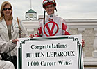 Leparoux Scores 1,000th Career Victory