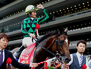 Just A Way wins the Yasuda Kinen.