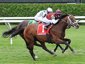 Justenuffhumor Wins 6th Straight in Baruch H.