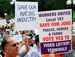 KY House Drops Racetrack VLTs in Senate's Lap