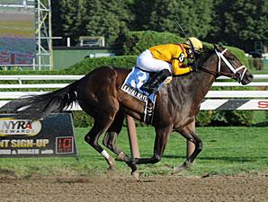 Kauai Kate wins the Adirondack Stakes.