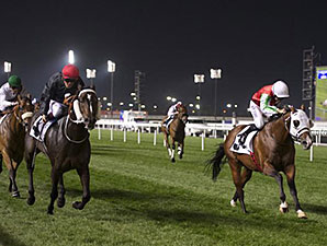 Kavanagh wins the 2014 District One Meydan Sobha.