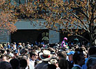 Keeneland Handle Slips, Attendance Strong