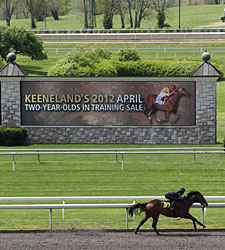 Horsemen Discuss Keeneland Sale, 2YO Market