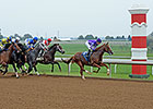 Jockeys Find Keeneland Mile Race Challenging