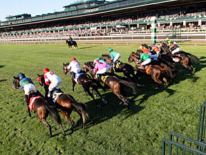 Through Eight Days, Keeneland Reports Gains