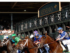 Keeneland Fall Stakes Worth $5.4 Million