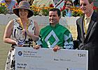 Desormeaux Wins Pimlico's Jockey Challenge