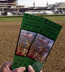 Walk-Up Derby, Oaks Ticket Prices Increased
